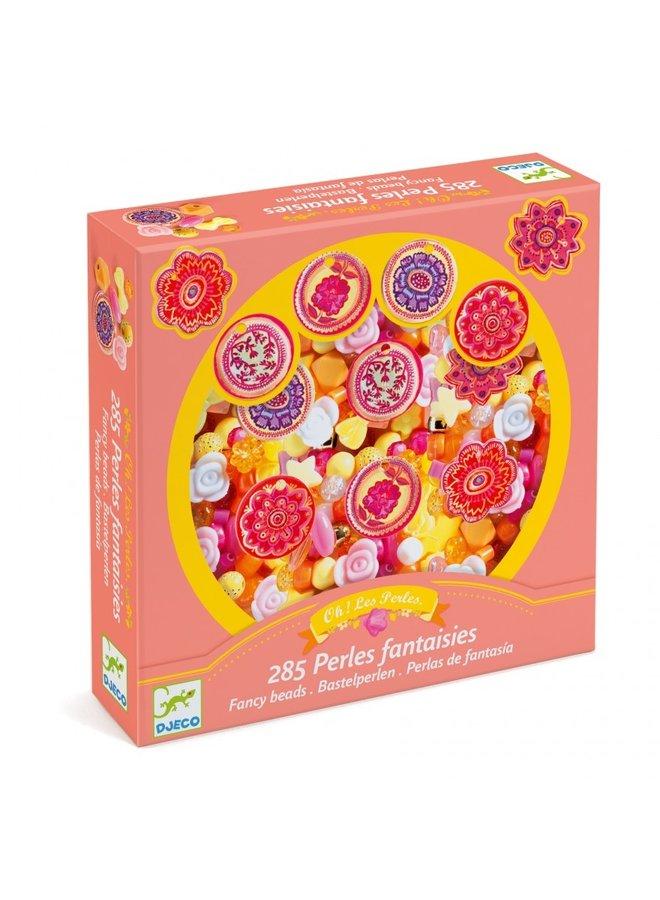 Djeco - Abundance Beads - Flowers - DJ09854