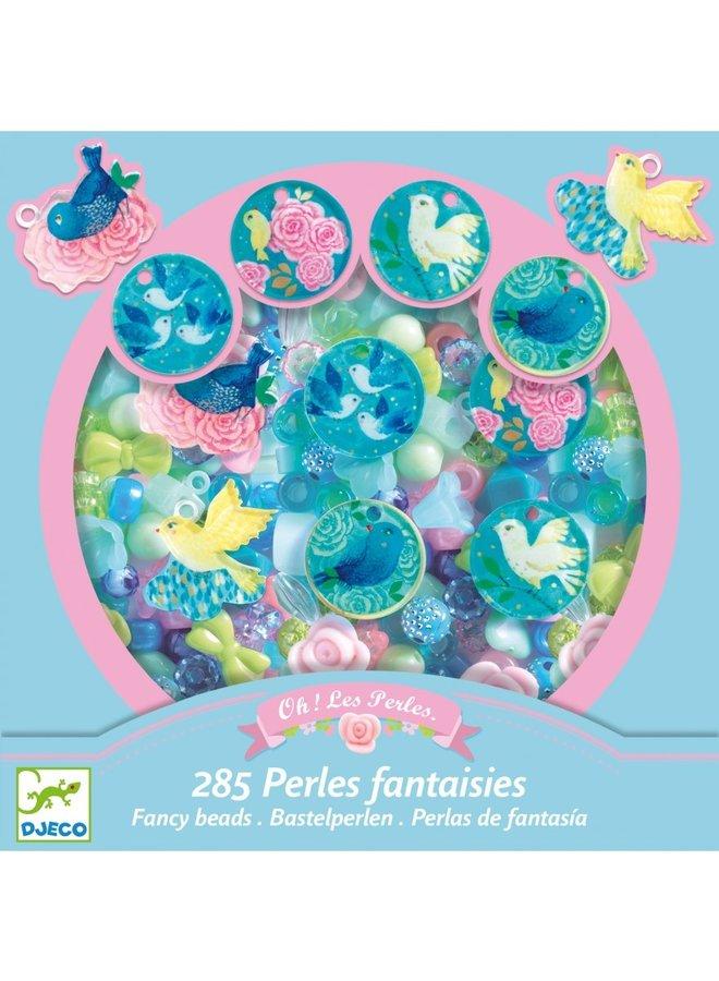 Abundance Beads - Birds- DJ09856