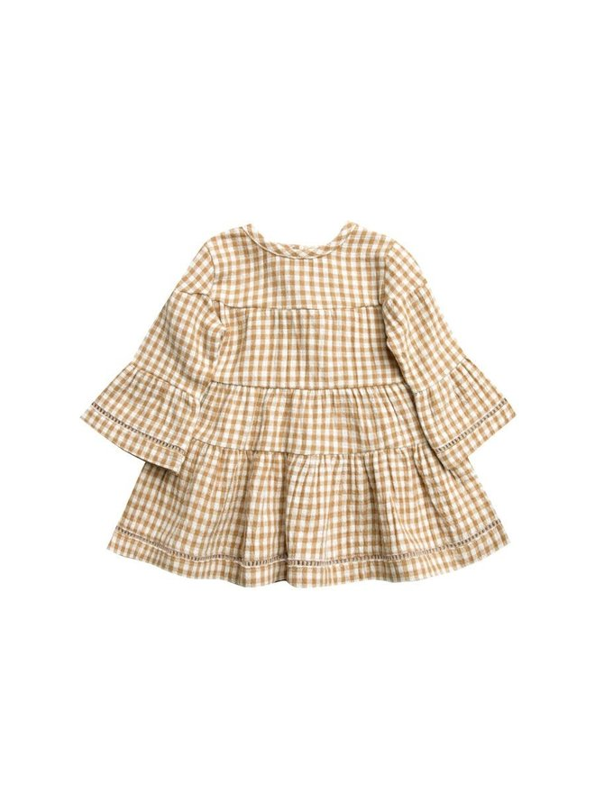 Belle Dress   Honey Gingham