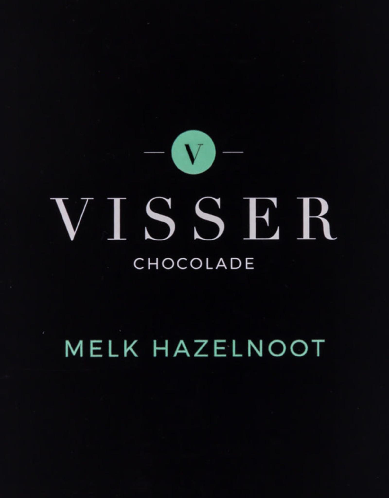 Visser Chocolade Melk Hazelnoot