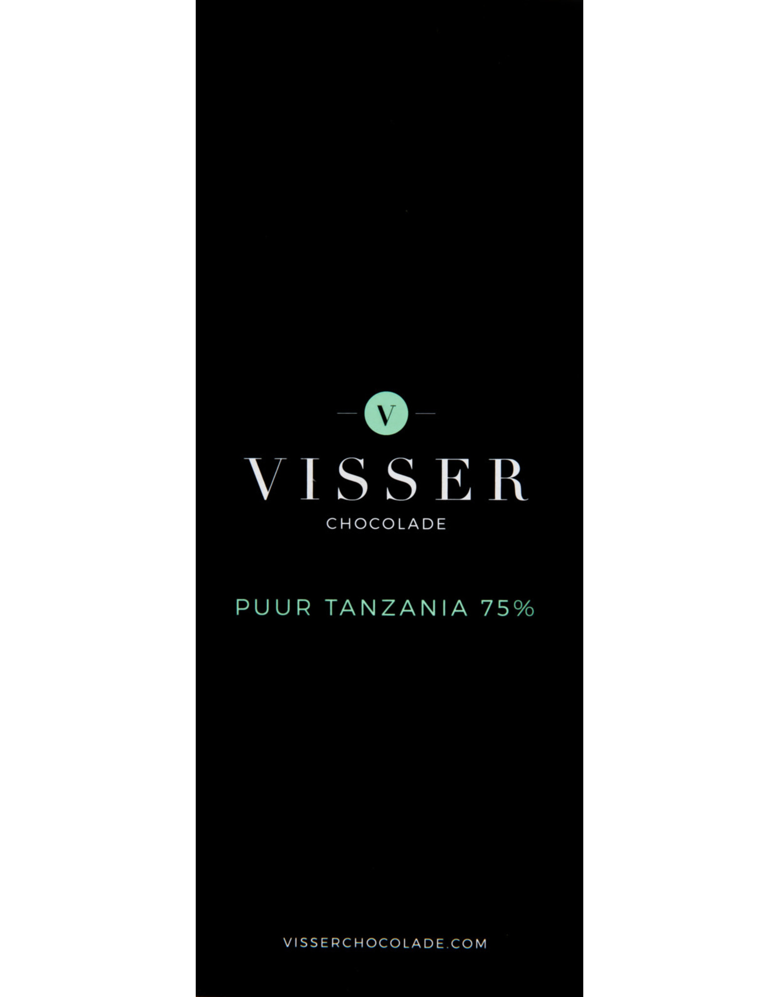 Visser Chocolade Puur Tanzania 75%