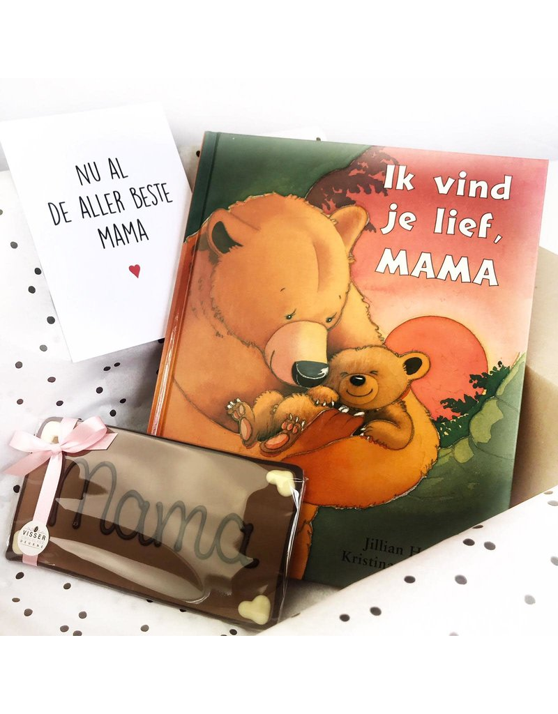 Visser Chocolade Lieve Mama