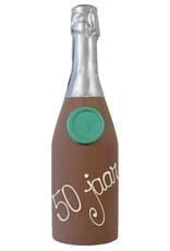 Visser Chocolade Champagne fles - 50 Jaar