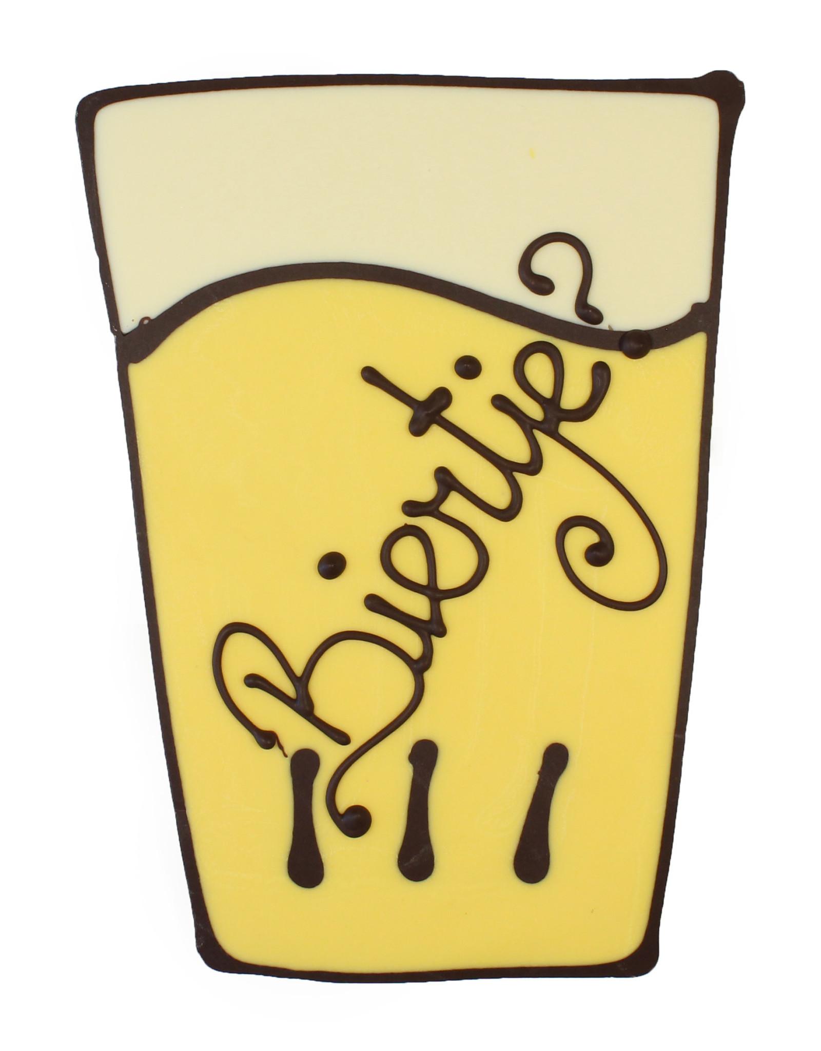 Visser Chocolade Bierglas