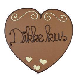 Visser Chocolade Hart - Dikke kus