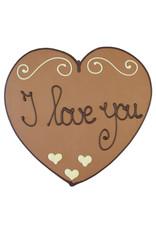 Visser Chocolade Hart - I love you