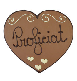 Visser Chocolade Hart - Proficiat
