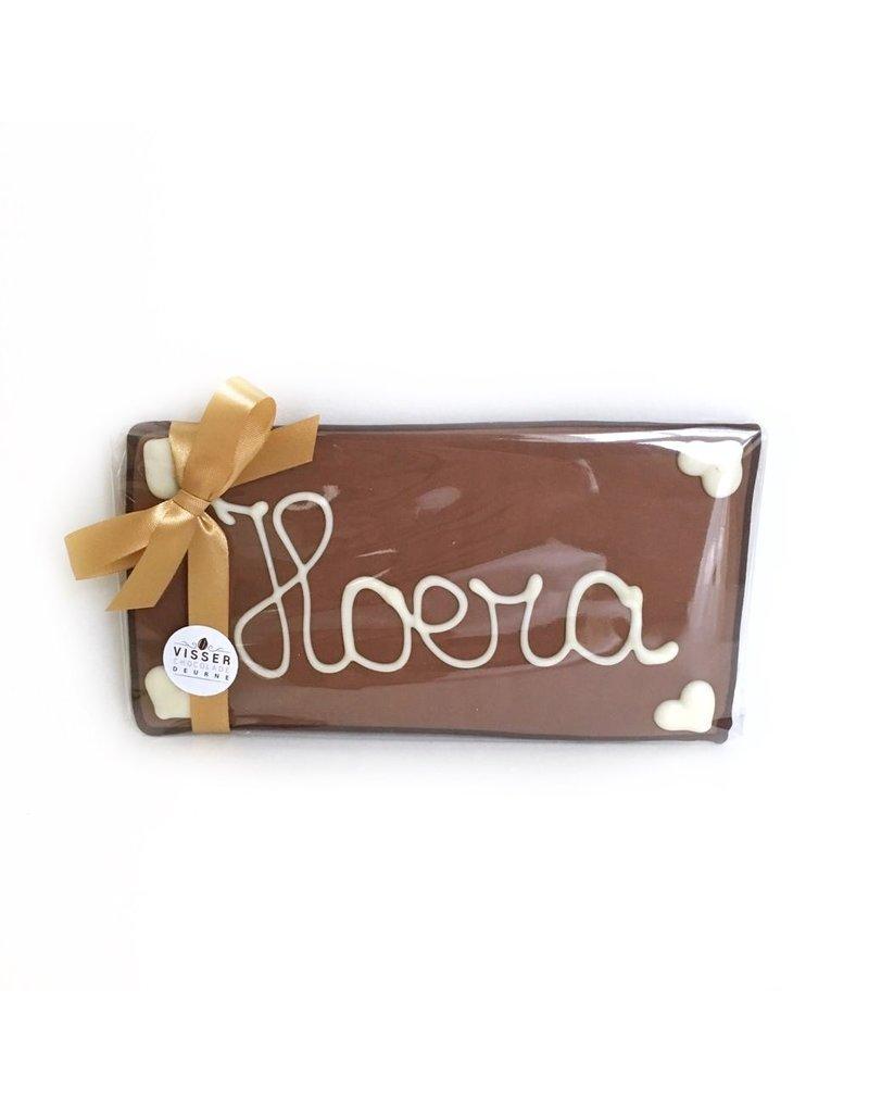 Visser Chocolade Hoera - Klein