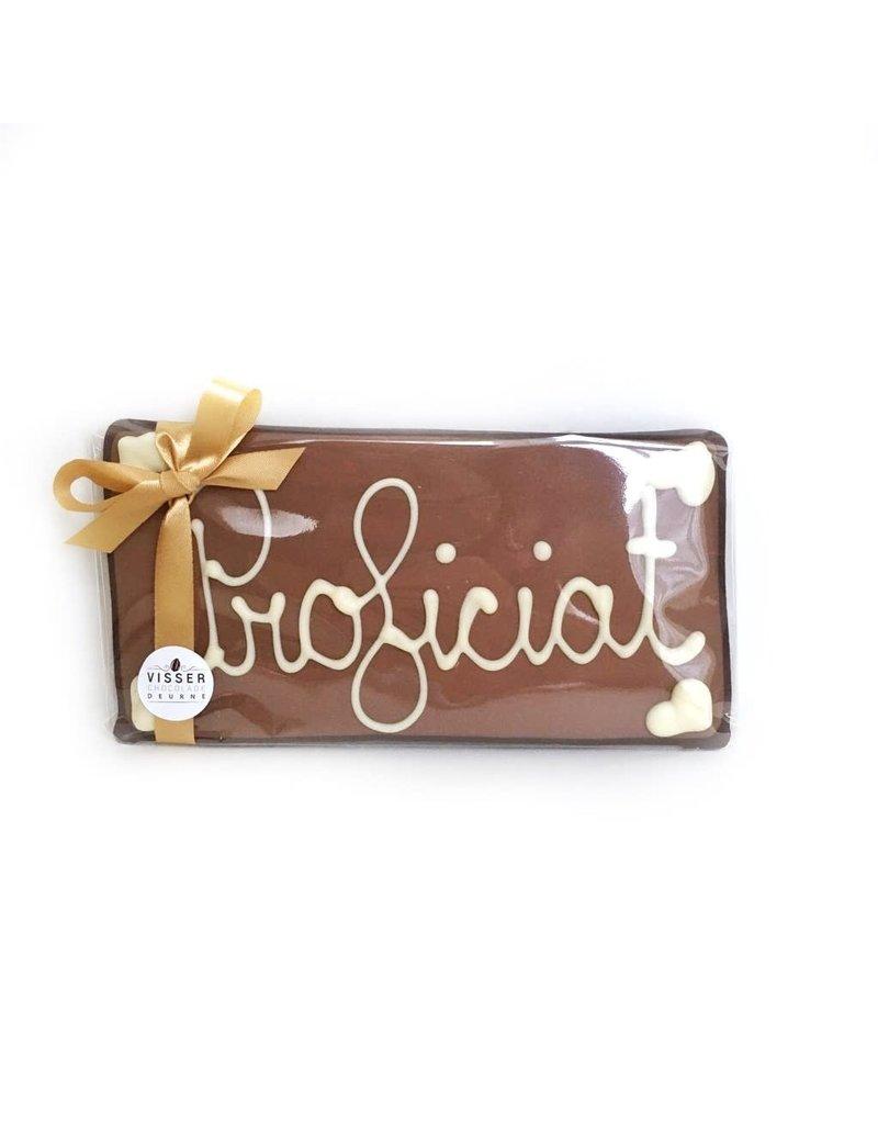 Visser Chocolade Proficiat - Klein