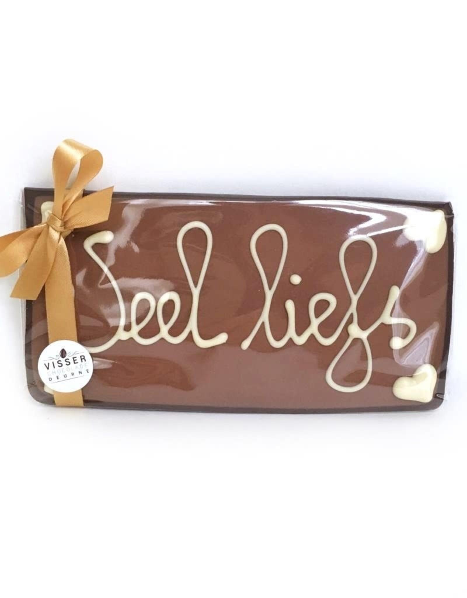 Visser Chocolade Veel Liefs - Klein