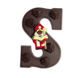 Dragee Dragee - Letter S Puur Met Sintdecor