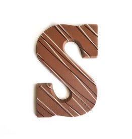 Visser Chocolade Chocolade Letter - Praline - S