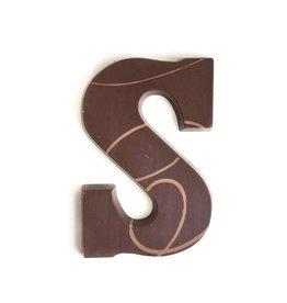Visser Chocolade Chocolade Letter - Puur - S