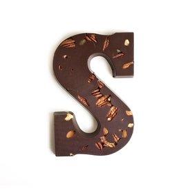 Visser Chocolade Chocolade Letter - Studentenhaver - Puur