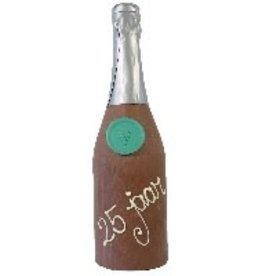 Visser Chocolade Champagne fles - 25 jaar