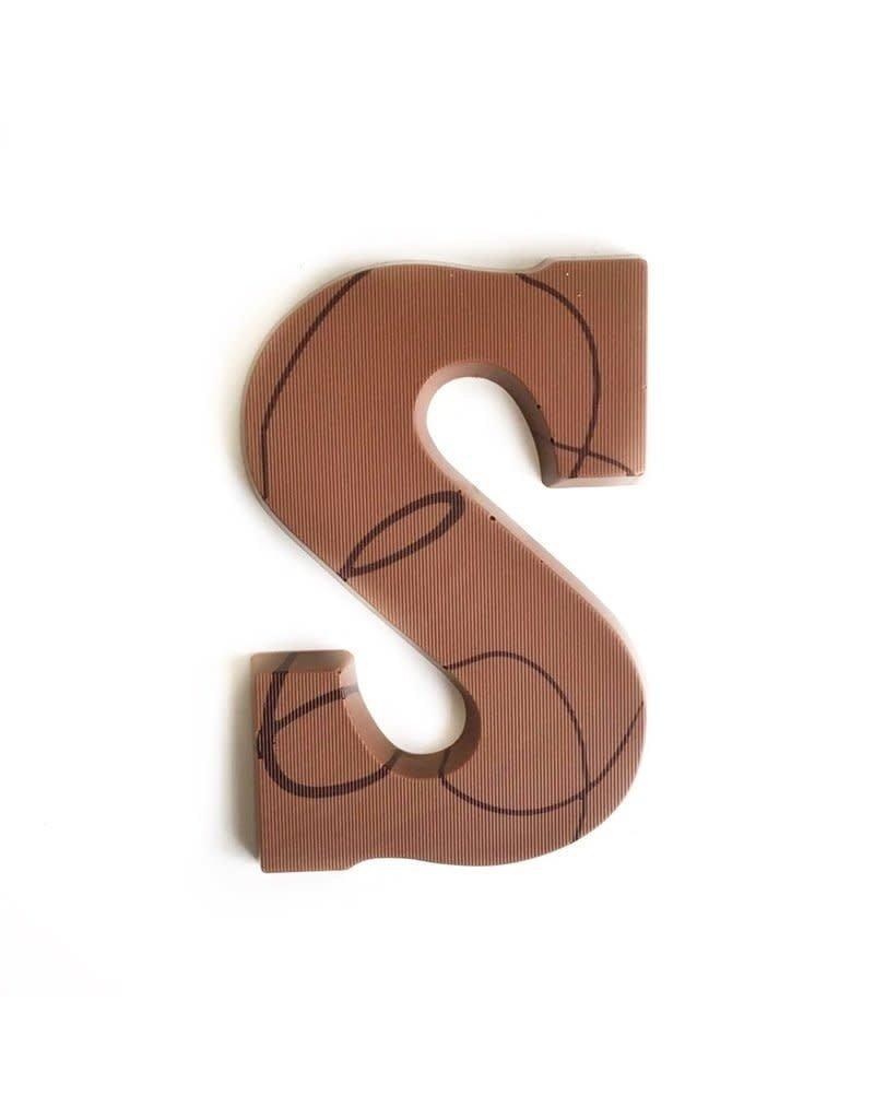 Visser Chocolade Chocolade letter - Melk - Alfabet