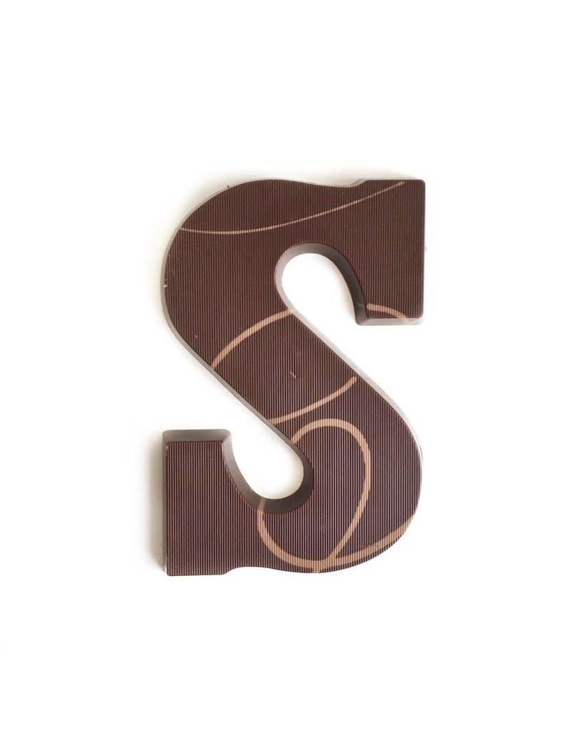 Visser Chocolade Chocolade letter - Puur - Alfabet