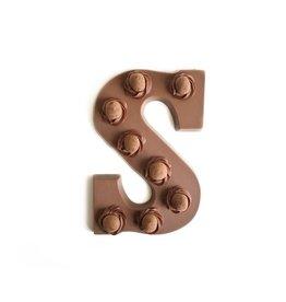 Visser Chocolade Chocolade letter - Crispy Ball - Melk - Alfabet