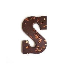 Visser Chocolade Chocolade letter - Studentenhaver - Puur - Alfabet