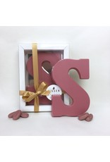 Visser Chocolade LIMITED EDITION Ruby chocoladeletter S