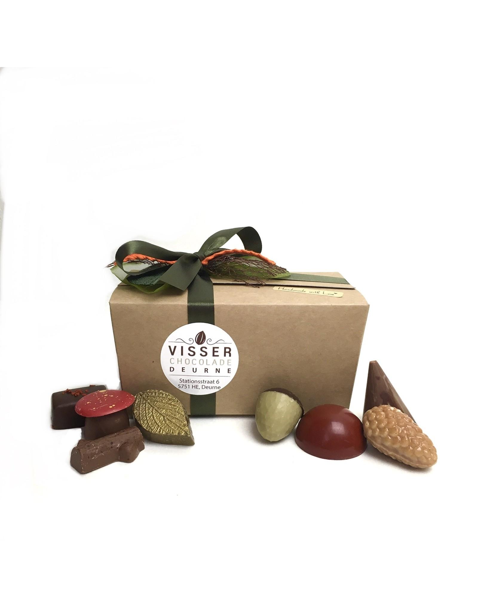 Visser Chocolade Herfst Doosje - Groot