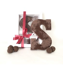Visser Chocolade LIMITED EDITION Chocolade Letter - Speculaas - S
