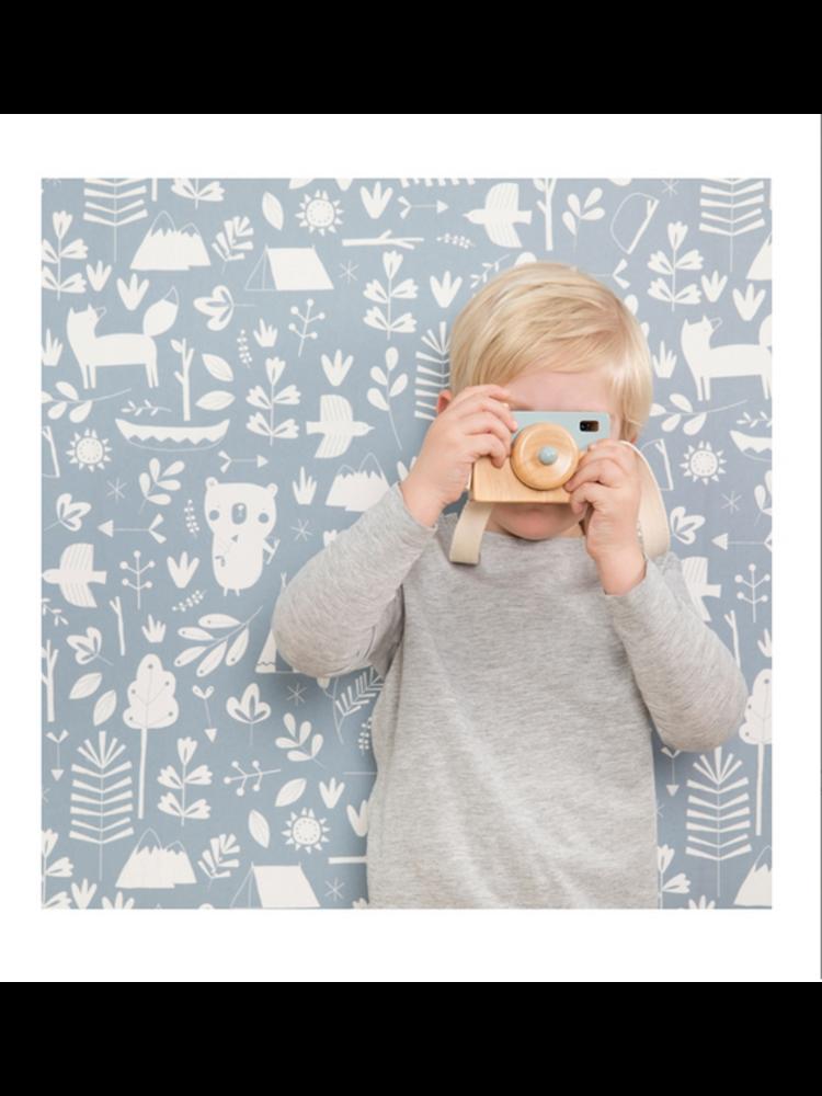 Little Dutch Camera hout - adventure blue