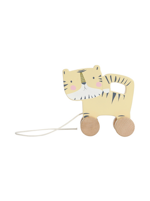 Little Dutch Houten trekdier - tijger