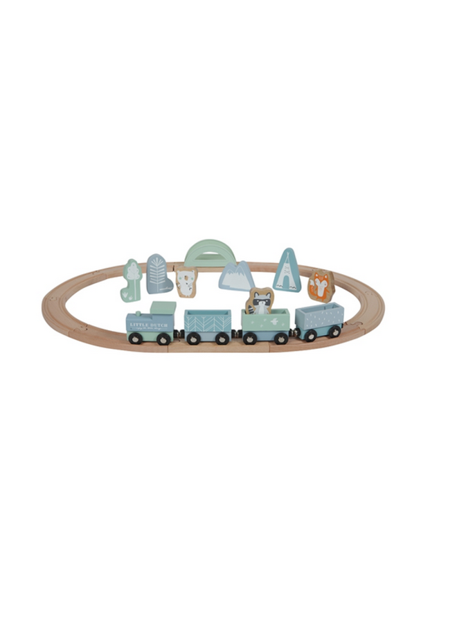 Treinbaan - adventure blue