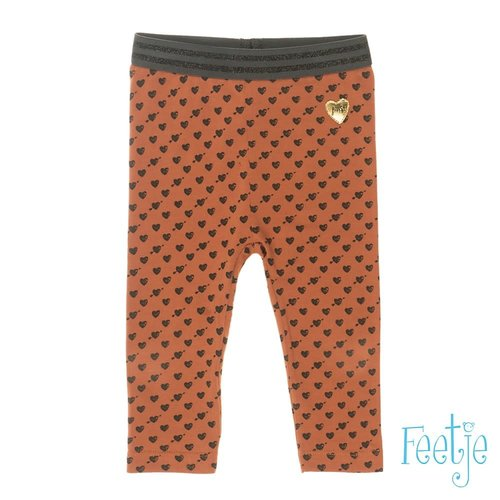 Feetje Legging AOP - Made With Love