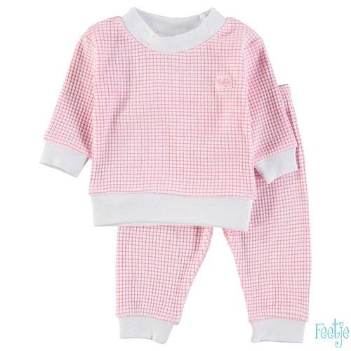 Feetje Pyjama wafel - Rose