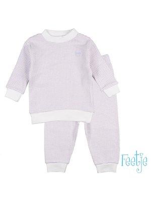 Feetje Pyjama wafel - Lila special