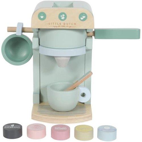 Little Dutch Houten koffiezetapparaat - 10 delig