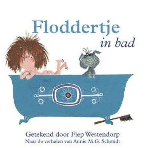 Querido Floddertje in bad (badboekje)