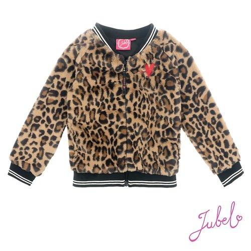 Jubel Teddy vest - Leopard Lipstick
