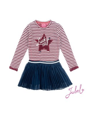 Jubel Jurk streep / uni - Lucky Star