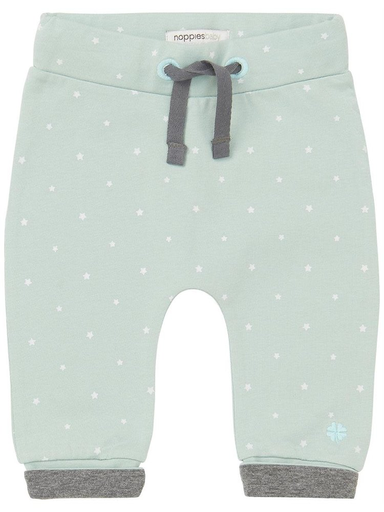 Noppies Broek - Bo - Grey Mint