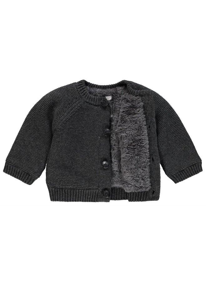 Vest - Dani - Dark Grey Melange