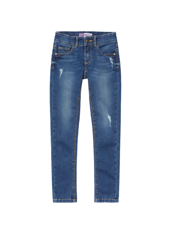 Jeans - Adelaide - Mid Blue Stone