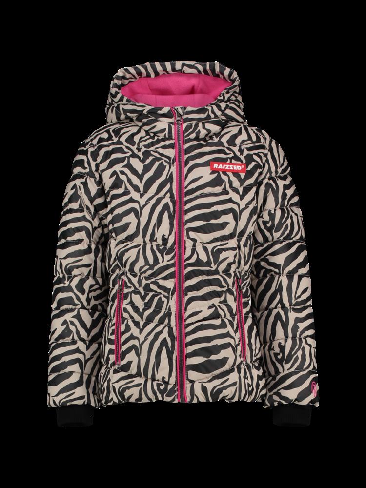 Raizzed Jacket - Atlanta - Zebra AOP