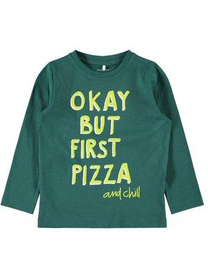 Name It Kibok LS Top - T-shirt - Bayberry