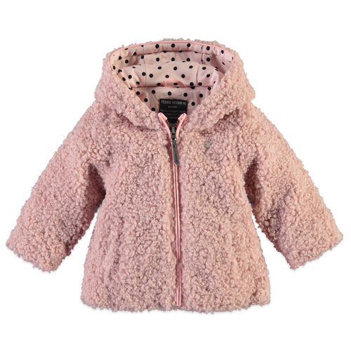 Babyface Girls Jacket - Chalk Pink