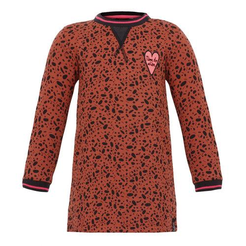 Beebielove Dress print - Leopard - Brown