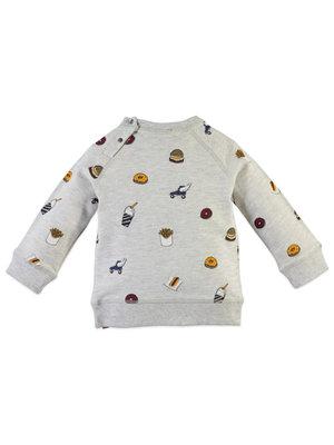 Babyface Boys Sweater - Light Grey Melee