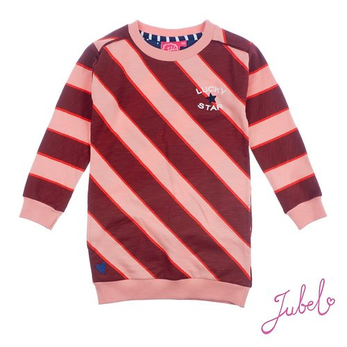Jubel Jurk streep - Lucky Star