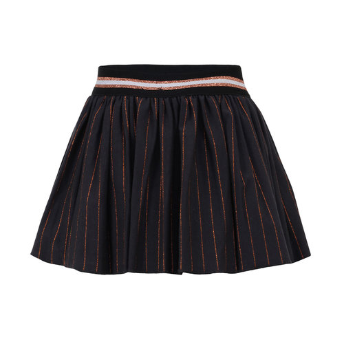 Beebielove Skirt - Grey Stripe