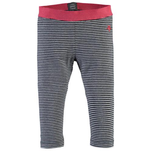 Babyface Legging - Blue Night - Stripe
