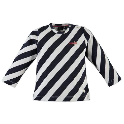 Babyface T-Shirt Long Sleeve - Blue Night - Stripe