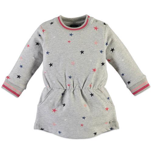 Babyface Sweat Dress - Grey Melange
