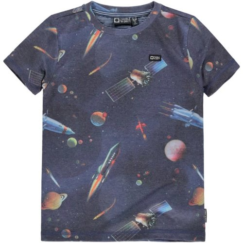 Tumble 'n Dry Valein - Boys - T-shirt - Blue Dark